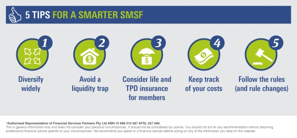 Infographic_5 tips for a smarter SMSF