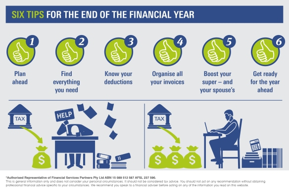 Infographic_Six tips for the end of the financial year