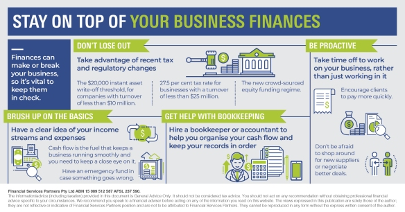 Infographic_Stay on top of your business finances