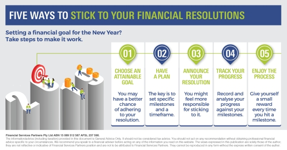 Infographic_Five ways to stick to your financial resolutions_FSP